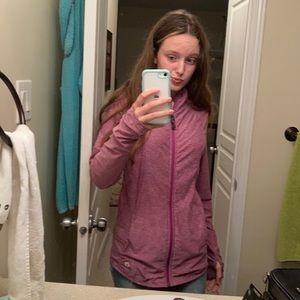 Tuff athletics zip up sweater size small